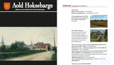 Aold Hoksebarge nr. 4 is uit